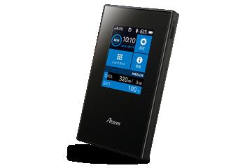 モバイルルーター Aterm MR04LNとUQ Mobile