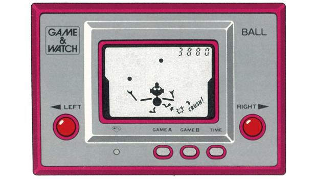 生まれて初めて遊んだゲーム「ゲームウォッチ ボール」