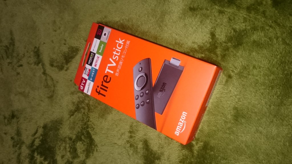 Amazon Fire TV Stick届く!